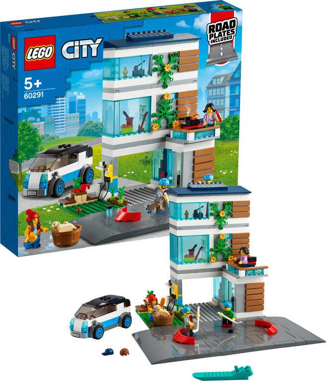 LEGO CITY Moderní rodinný dům 60291 STAVEBNICE