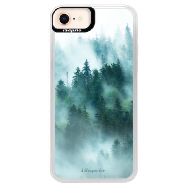 Neonové pouzdro Blue iSaprio - Forrest 08 - iPhone 8