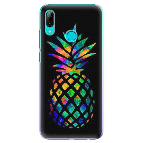 Plastové pouzdro iSaprio - Rainbow Pineapple - Huawei P Smart 2019