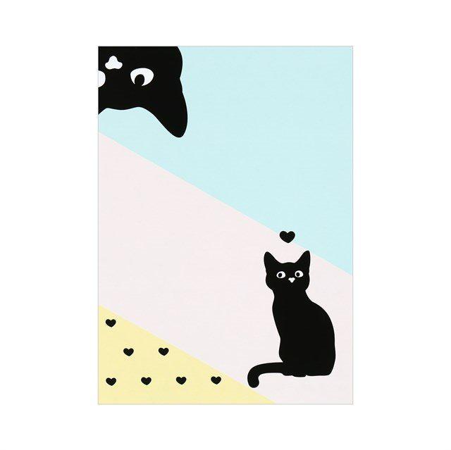 Samolcí bločky - Samolepící bločky - Kočky