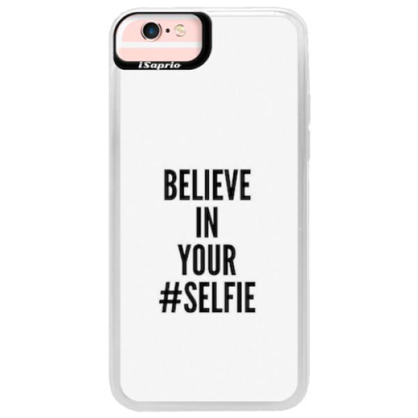 Neonové pouzdro Pink iSaprio - Selfie - iPhone 6/6S
