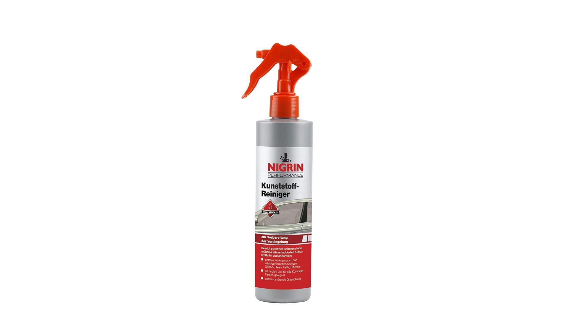 Nigrin Přípravek na čištění a ochranu plastů 300ml
