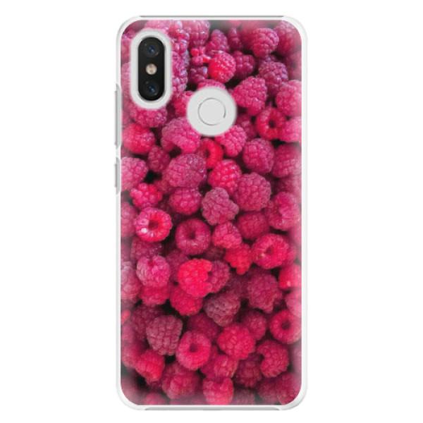 Plastové pouzdro iSaprio - Raspberry - Xiaomi Mi 8