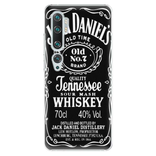 Plastové pouzdro iSaprio - Jack Daniels - Xiaomi Mi Note 10 / Note 10 Pro