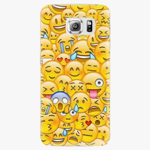 Plastový kryt iSaprio - Emoji - Samsung Galaxy S6 Edge