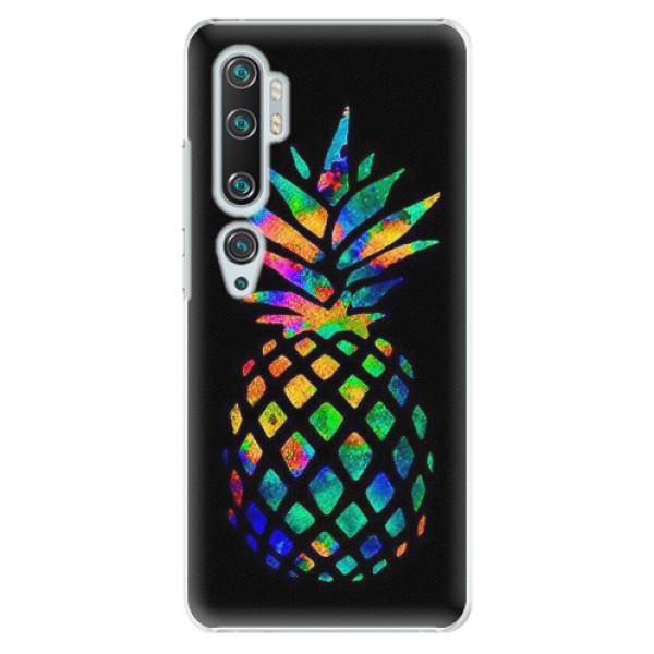 Plastové pouzdro iSaprio - Rainbow Pineapple - Xiaomi Mi Note 10 / Note 10 Pro
