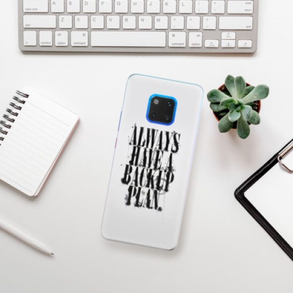 Silikonové pouzdro iSaprio - Backup Plan - Huawei Mate 20 Pro