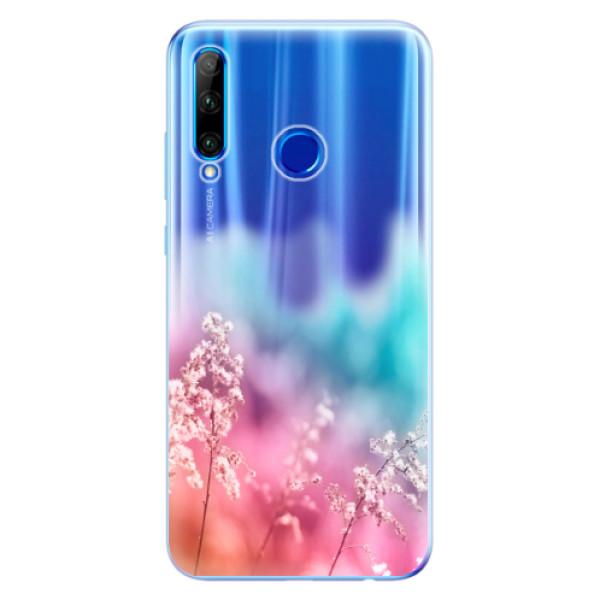 Odolné silikonové pouzdro iSaprio - Rainbow Grass - Huawei Honor 20 Lite