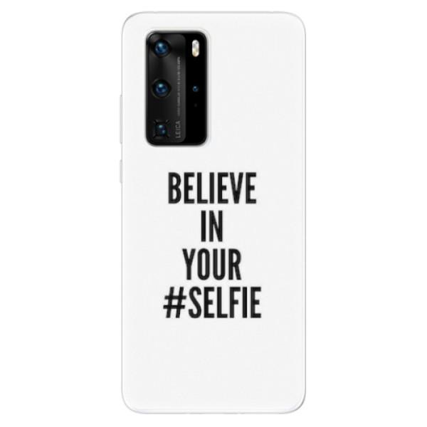 Odolné silikonové pouzdro iSaprio - Selfie - Huawei P40 Pro