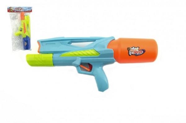 Časdětí vodní stříkací puška 2 barvy v sáčku. Super účinek skvělá zábava
