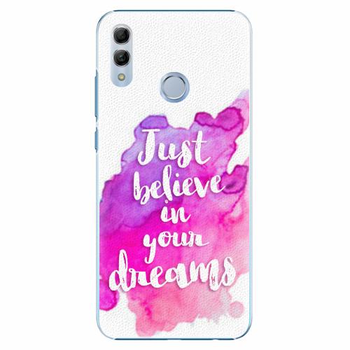 Plastový kryt iSaprio - Believe - Huawei Honor 10 Lite