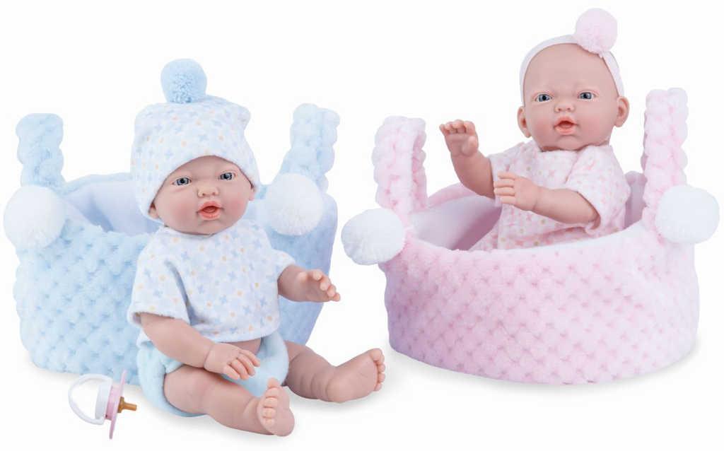 MARINA and PAU Panenka miminko vonící 21cm holčička ruční výroba plast