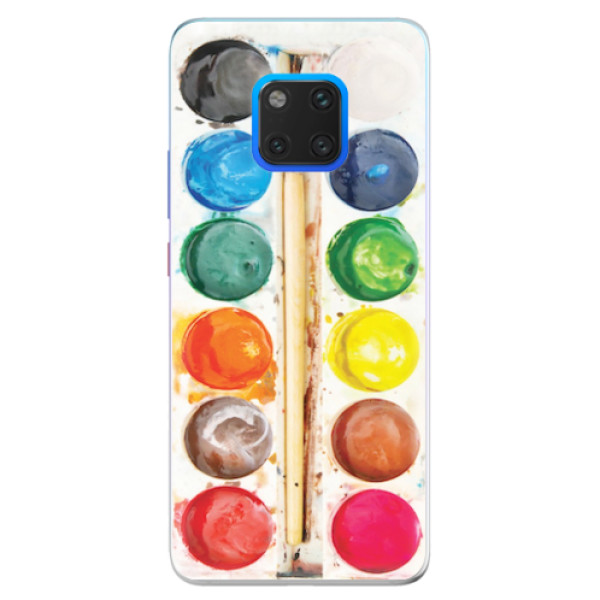 Silikonové pouzdro iSaprio - Watercolors - Huawei Mate 20 Pro