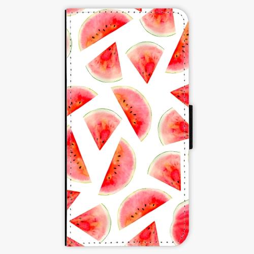 Flipové pouzdro iSaprio - Melon Pattern 02 - Nokia 6