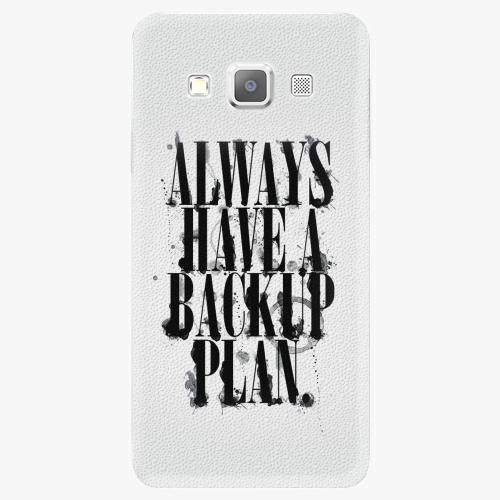 Plastový kryt iSaprio - Backup Plan - Samsung Galaxy A5