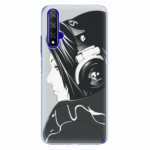 Plastový kryt iSaprio - Headphones - Huawei Honor 20