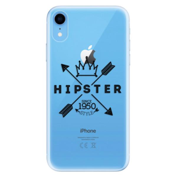 Odolné silikonové pouzdro iSaprio - Hipster Style 02 - iPhone XR