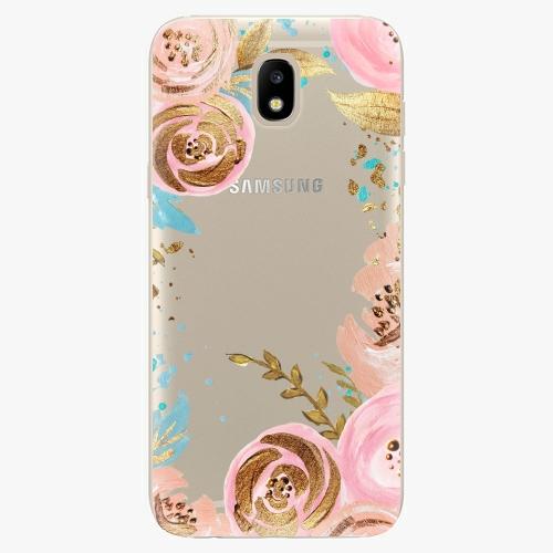 Silikonové pouzdro iSaprio - Golden Youth - Samsung Galaxy J5 2017