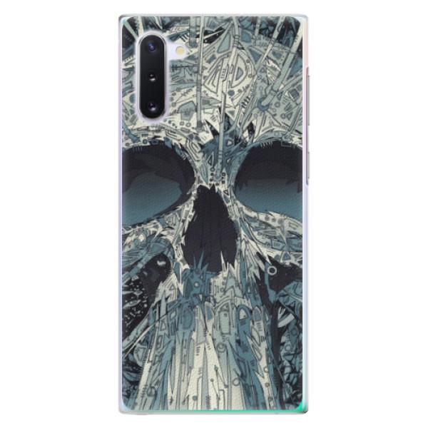 Plastové pouzdro iSaprio - Abstract Skull - Samsung Galaxy Note 10
