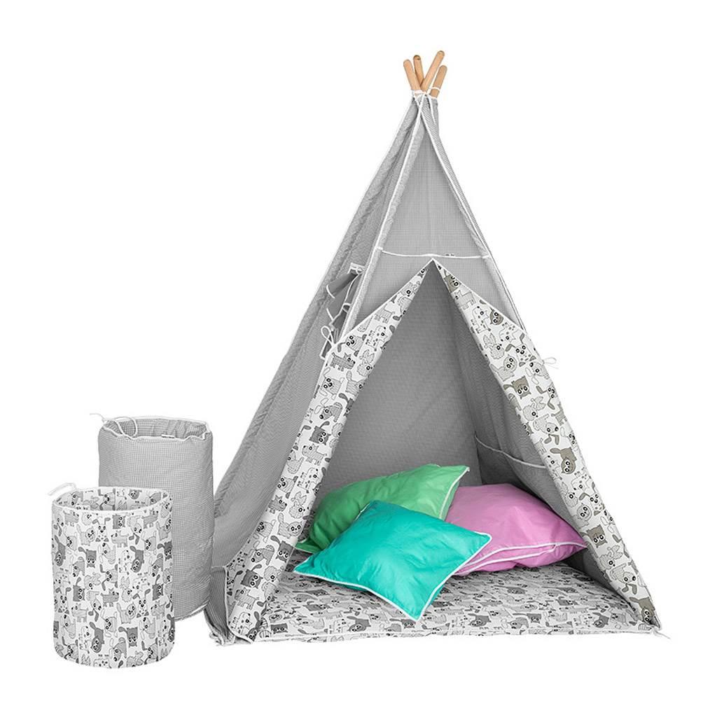 Dětský luxusní stan s výbavou Teepee Akuku