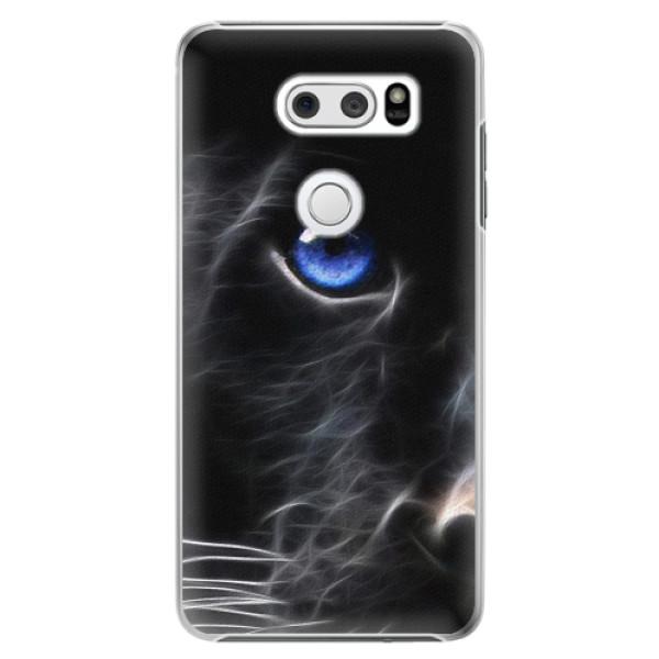 Plastové pouzdro iSaprio - Black Puma - LG V30