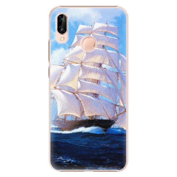 Plastové pouzdro iSaprio - Sailing Boat - Huawei P20 Lite