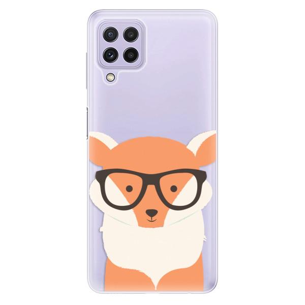Odolné silikonové pouzdro iSaprio - Orange Fox - Samsung Galaxy A22