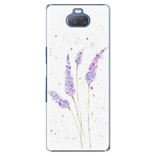 Plastové pouzdro iSaprio - Lavender - Sony Xperia 10