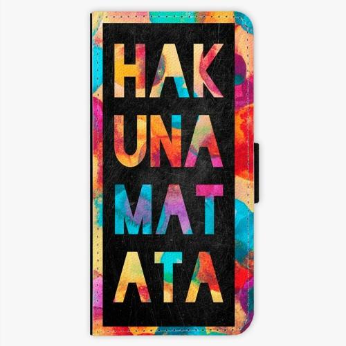 Flipové pouzdro iSaprio - Hakuna Matata 01 - Samsung Galaxy S8