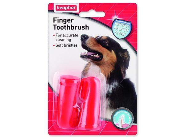 Zubní kartáček BEAPHAR Dog-A-Dent na prst