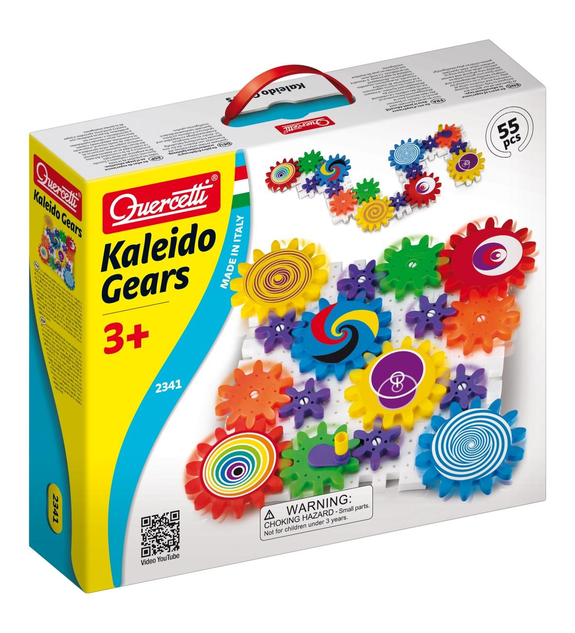 Quercetti Georello Kaleido Gears 55 ks 2341