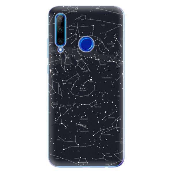 Odolné silikonové pouzdro iSaprio - Night Sky 01 - Huawei Honor 20 Lite
