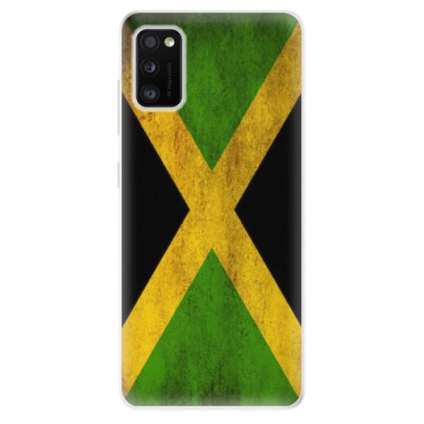Odolné silikonové pouzdro iSaprio - Flag of Jamaica - Samsung Galaxy A41