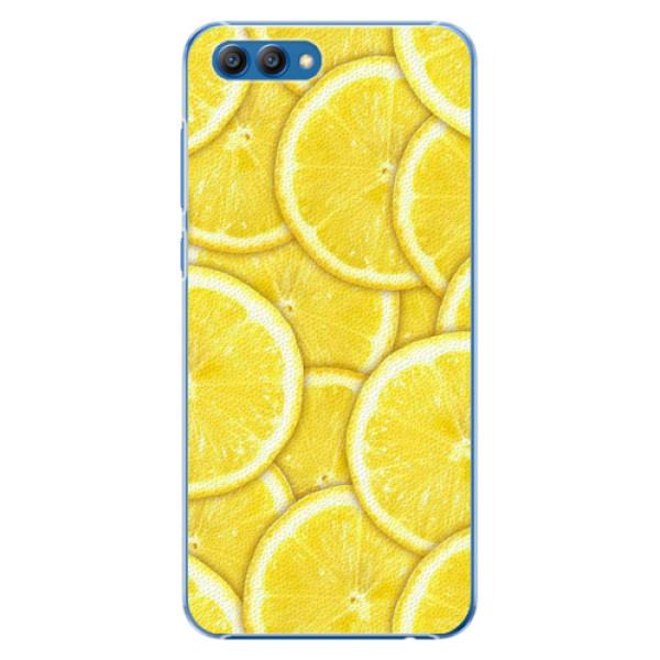Plastové pouzdro iSaprio - Yellow - Huawei Honor View 10