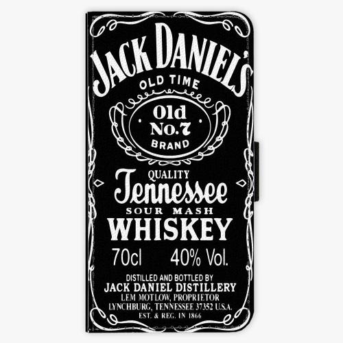 Flipové pouzdro iSaprio - Jack Daniels - Samsung Galaxy A8 2018