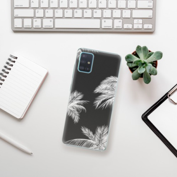 Plastové pouzdro iSaprio - White Palm - Samsung Galaxy A51