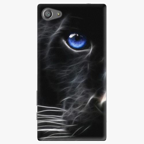 Plastový kryt iSaprio - Black Puma - Sony Xperia Z5 Compact