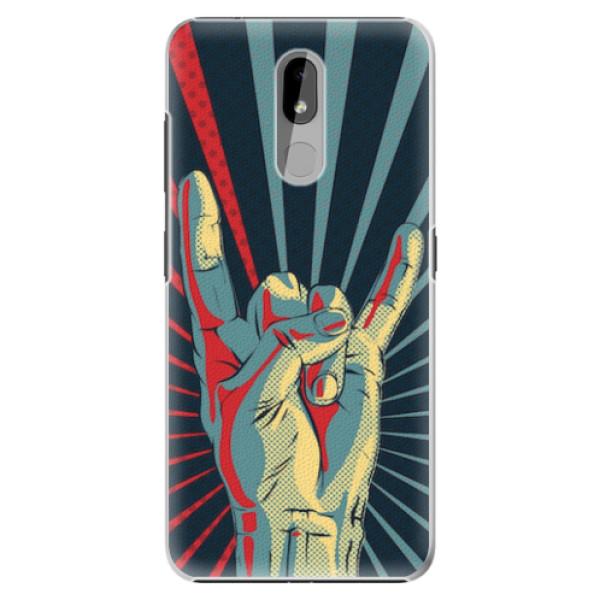 Plastové pouzdro iSaprio - Rock - Nokia 3.2