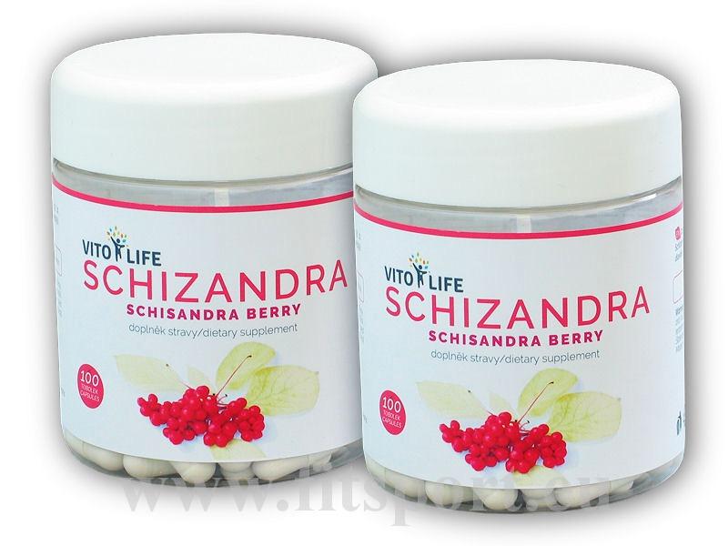 2x Schizandra čínská 100 kapslí