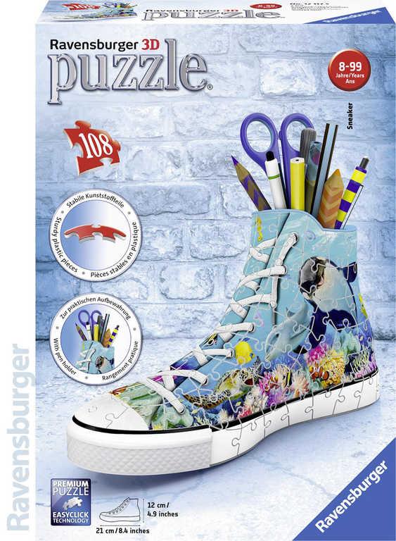 RAVENSBURGER Puzzle 3D Kecka Moře stojánek na tužky 108 dílků