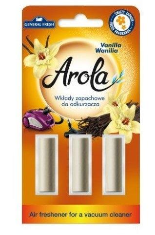General Fresh AROLA vůně do vysavače Vanilla 3 ks