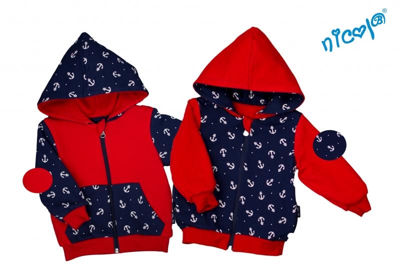 detska-bunda-mikina-nicol-oboustranna-sailor-granat-cervena-110