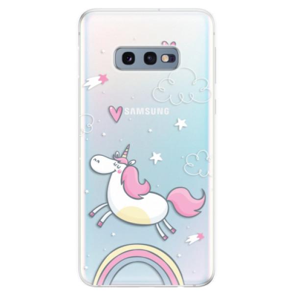 Odolné silikonové pouzdro iSaprio - Unicorn 01 - Samsung Galaxy S10e