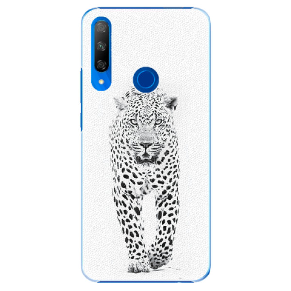 Plastové pouzdro iSaprio - White Jaguar - Huawei Honor 9X