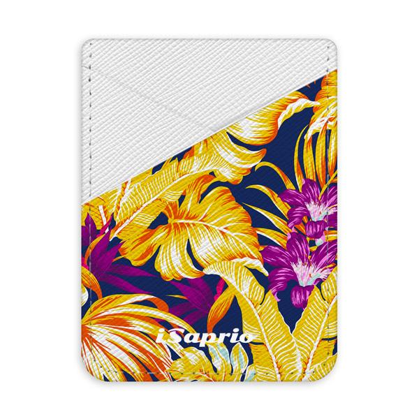 Pouzdro na kreditní karty iSaprio - Tropical Orange 04 - světlá nalepovací kapsa