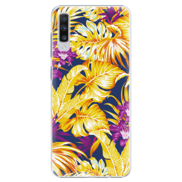 Plastové pouzdro iSaprio - Tropical Orange 04 - Samsung Galaxy A70