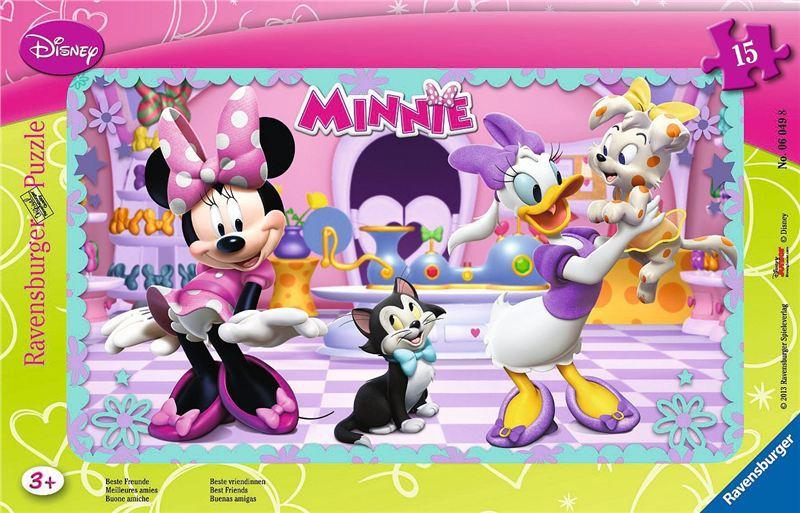 RAVENSBURGER PUZZLE Minnie Mouse 15 dílků rámkové