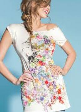 Dámské triko ELC4338 - Lise Charmel - Květinový print/38