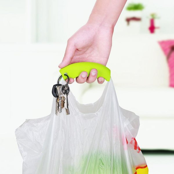 Držák na nákupní tašky - Žlutá