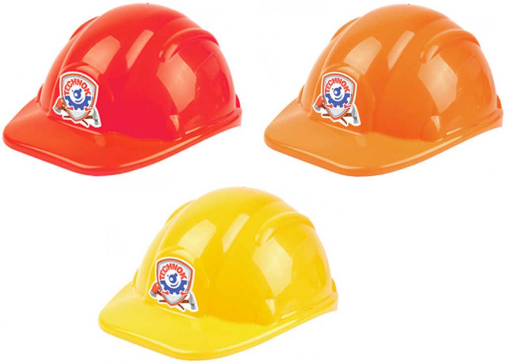 Helma dětská stavební ochranná pomůcka na hlavu různé barvy plast